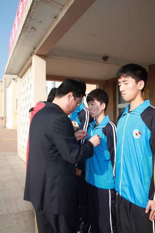 长海高中青年志愿者协会成立